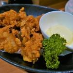 一根六菜 - 近江牛ホルモンの唐揚げ(690円)