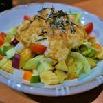 一根六菜 - 野菜たっぷり一根六菜サラダ(半額275円)