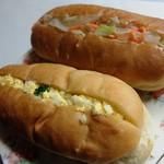 秋保パン食堂 コッペ - 料理写真:タマゴ&コールスローコッぺ