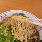 中華そばいせや - 麺(もっちり感が好き!)