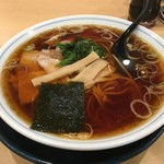 ラーメンあおきや - 料理写真:ラーメン600円