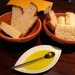 70136414 - お通しの自家製パン