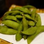 一番どり - (2017/5月)宴会コースの枝豆