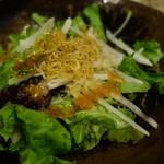 一番どり - (2017/5月)宴会コースのサラダ