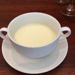 ランデヴー・デ・ザミ - 冷製サツマイモスープ