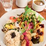 チャヤマクロビ - 季節野菜と玄米プレート
