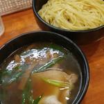 ラーメン哲史 - 鴨叩き醤油つけ麺