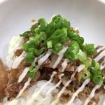 青波 - 鶏豚丼ヽ(^.ー^)b¥250円