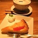 モナレコード おんがく食堂 - 夜にお茶で利用しました♬