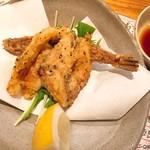 海鮮道楽 ととや - ふぐのカラ揚げ(870円)