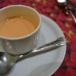 東京パリ食堂 - パプリカの冷製スープ