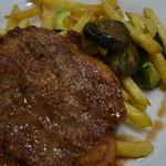 東京パリ食堂 - ポーク肩ロース肉のポアレ