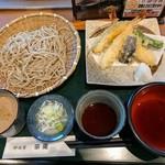 那須家 宗庵 - 【2017/7】くるみ汁天せいろ