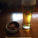 70149007 - ビールとお通しのラタトゥイユ