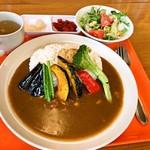 たんちゃ亭 - 季節の野菜カレー