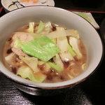東京うどん - 肉汁キャベツうどんつけ汁