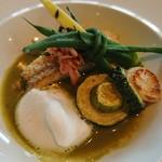 70150220 - 鯛と鎌倉野菜
