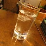 グリルダイニング エラバ - その他写真:お冷のグラス