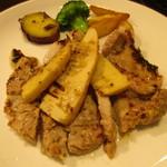 グリルダイニング エラバ - 豚ロースと筍の味噌漬けグリル