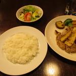 グリルダイニング エラバ - 豚ロースと筍の味噌漬けグリル ¥880