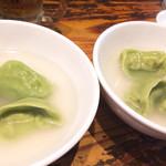 70150993 - 水餃子(ほうれん草入り)