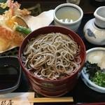 羽根屋 - 天ぷら割子