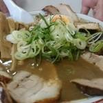 ラーメン麺雅 - ガチ煮干しチャーシュー