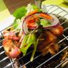 ル ジャルダン - 料理写真:◆椎茸のピザ②