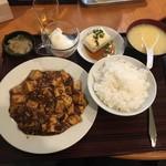 上海厨房 玲玲 - 麻婆豆腐定食