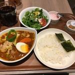 カレー食堂 心 - スープカレーAセット