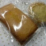 カフェ キャラメルママ - フィナンシェとクッキー