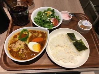 カレー食堂 心 ヨドバシAkiba店 - スープカレーAセット