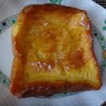 ゴントラン シェリエ - ◆フレンチトースト(180円:内税)・・程よい甘みで食べやすい品。