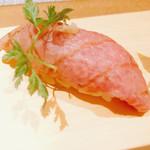松喜屋 京都四条店 - 近江牛の炙り寿司