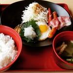 ジョイフル - 料理写真:幕の内朝食☀