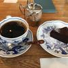 百塔珈琲 - 料理写真:クラシックショコラとショコラブレンドのセット900円