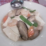 一路發 - 豆腐と海老の炒め物