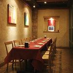 キッキリッキ - 落ち着いた雰囲気の個室