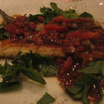 タベルナ・アズーリ - 【H23.3.2】穴子。バルサミコの酸味で独特な味わい。