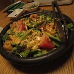 ふくのかみ - 海老とアボカドのクリーミーサラダでございます
