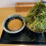 おにそば - 料理写真:海苔胡麻もり 背脂地獄(750円)