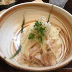 活麺富蔵 - おろしぶっかけうどん200g