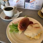 カフェ・イン - 2種のサンドイッチセット