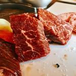 特選和牛と産直野菜 牛炙  - ハラミっす