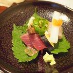 SHIMOMURA - 地魚盛り合わせ
