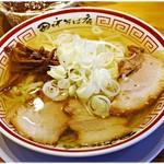 田中そば店 - 冷やかけ中華そば 850円 キリっとしたシャープな味わいの清湯豚骨ラーメン…を印象そのままにヒンヤリと♪