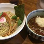 麺屋 蕃茄 - トマトチーズつけ麺(並盛200g)880円 (20170717)