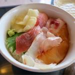 寿し光 - 「島丼」(1600円)