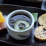 翁 - 小鉢(生しらす丼セット)