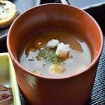翁 - 冷製茶碗蒸し(生しらす丼セット)